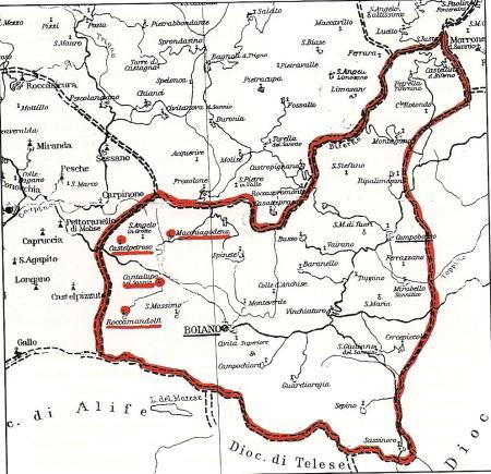 La contea del conte Rodolfo de Molinis/de Molisio.