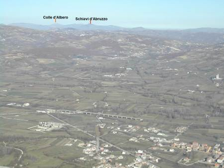 monte Crocelle, panorama verso nord