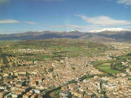 RIETI, la capitale dei SABINI e la sue pianura.