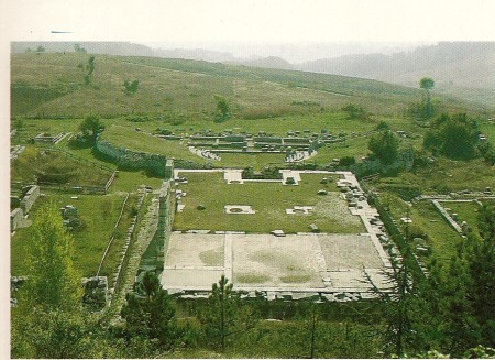 "Pietrabbondante: il  ""tempio B""."