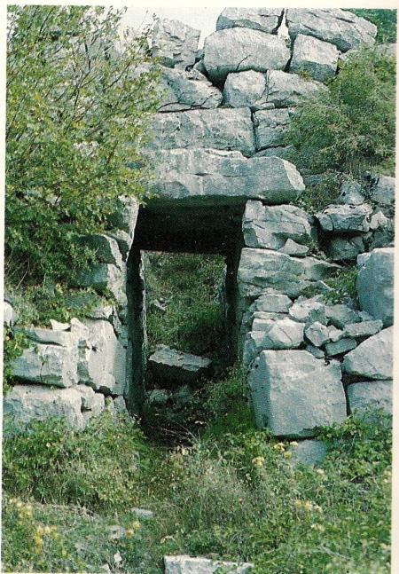 """""""Saipins"""": porta di accesso lato sud, """"postierla del Matese"""""""