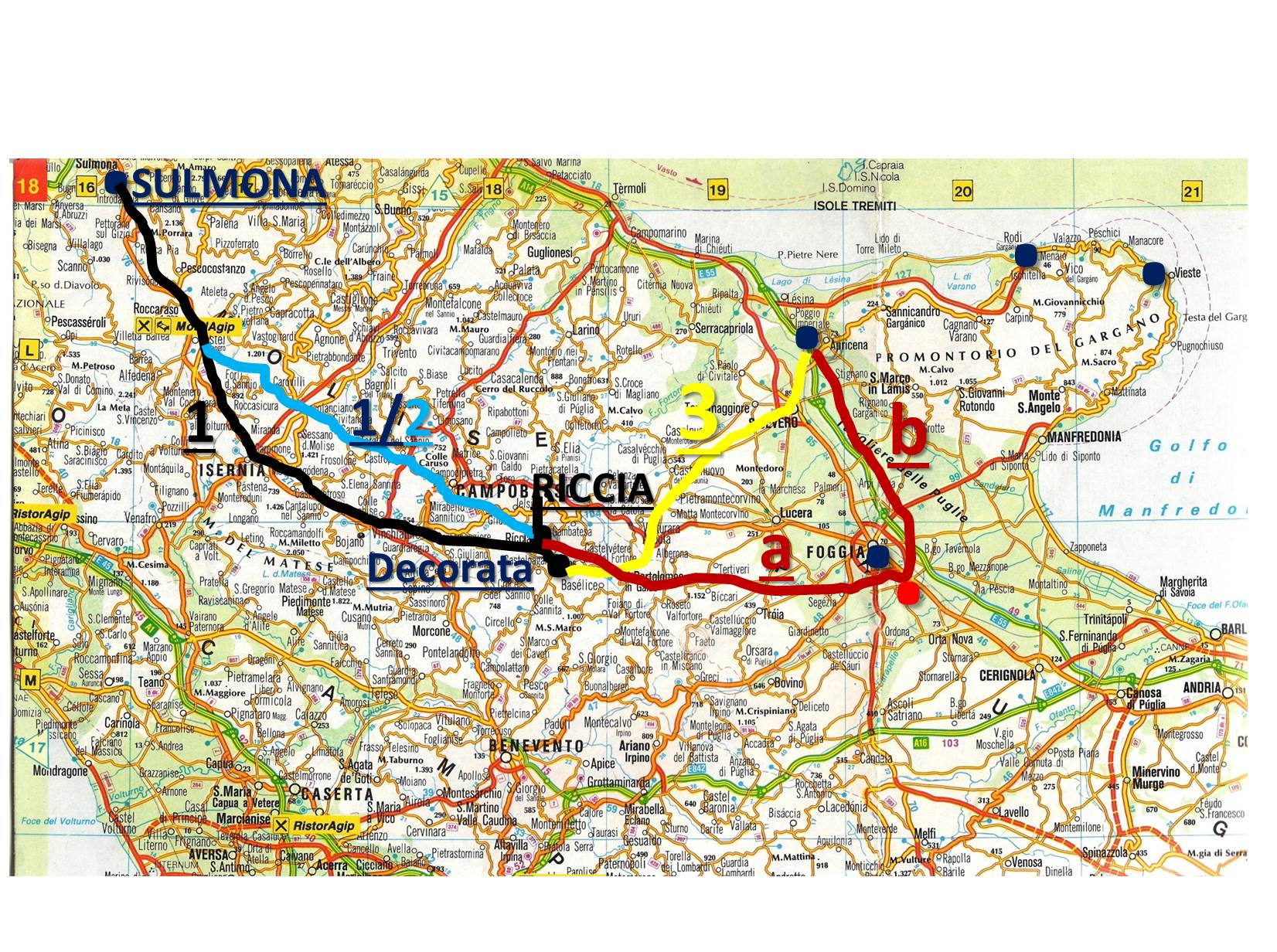 Cartina Geografica Roccaraso