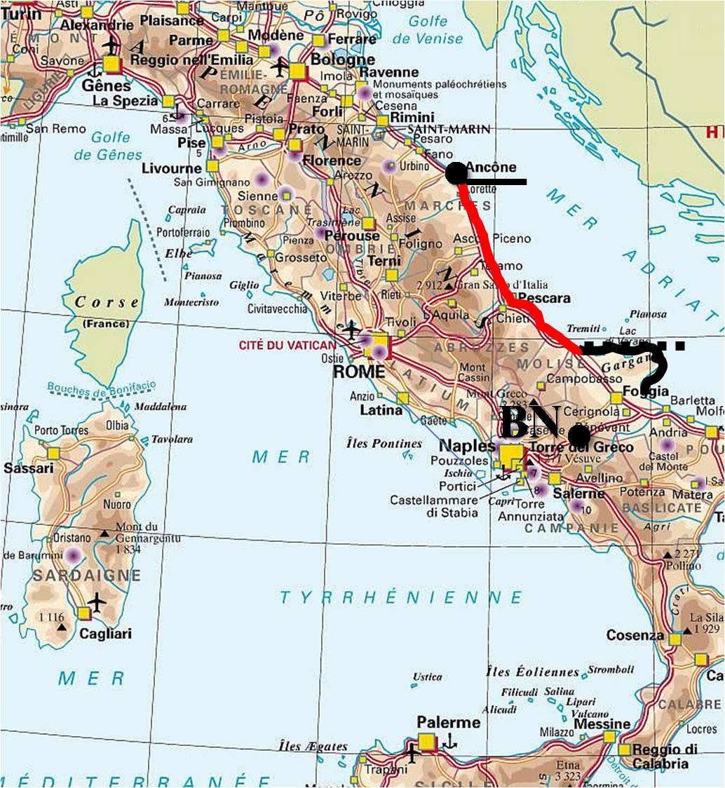 Cartina Costa Adriatica Italia.Alto Sannio Nella Provincia Di Benevento Molise2000 Blog