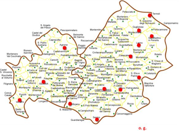 Cartina Regione Molise.San Francesco Nella Regione Molise Molise2000 Blog